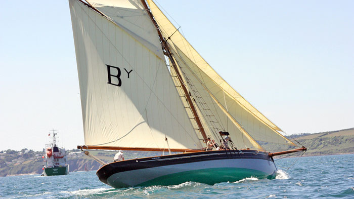 Cornubia rebuilt and sailing