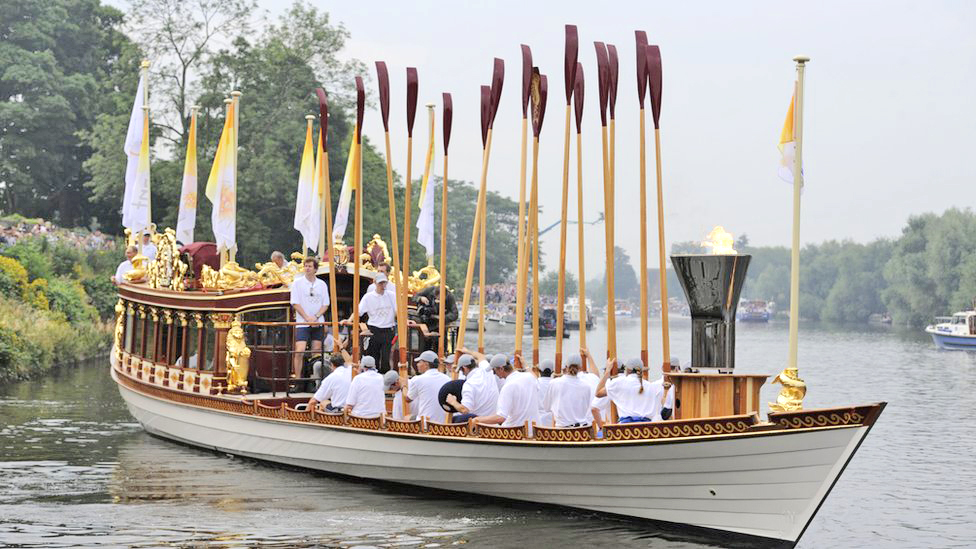 Other Projects. Gloriana – the Queen's Row Barge