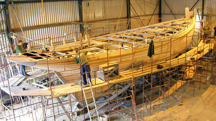Cornubia rebuild in our workshops