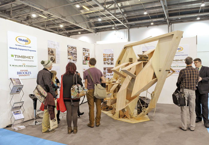 The Dan Kemp Memorial Pavilion at Ecobuild 2013