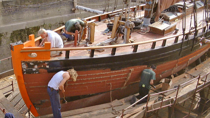 experienced shipwrights
