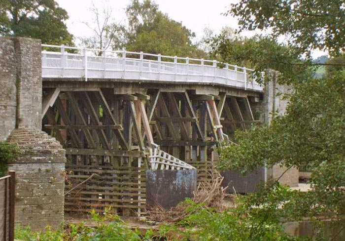 Other Projects. Whitney toll bridge near Hay-on-Wye